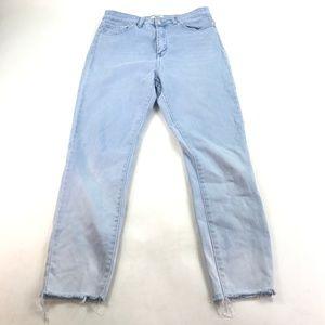 FOREVER 21 Women Jeans Cut-Off Pants Sz 30 O156